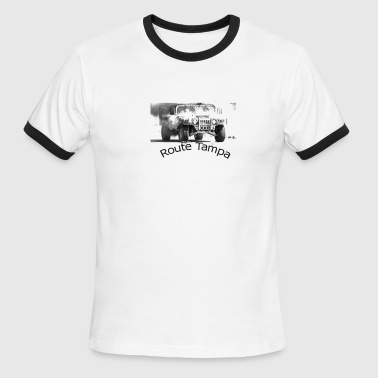 Route Tampa Ringer - Men's Ringer T-Shirt
