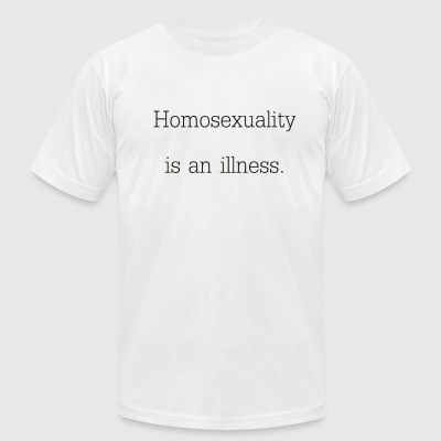 Illness - Men's T-Shirt by American Apparel