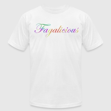 Fagalicious - Men's T-Shirt by American Apparel