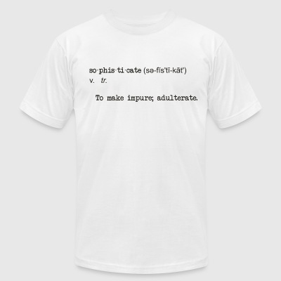 Sophistication - Men's T-Shirt by American Apparel