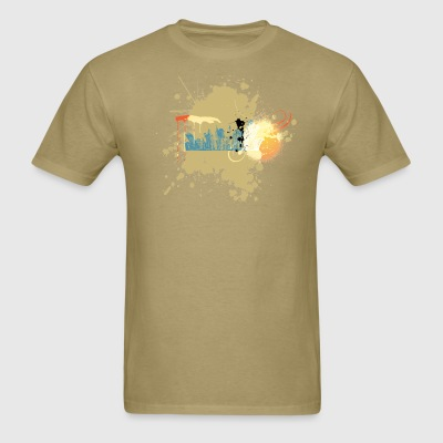 Splatterscape - Men's T-Shirt