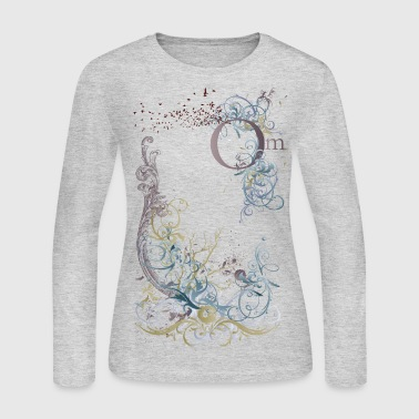 Om Long Sleeve Tee - Women's Long Sleeve Jersey T-Shirt