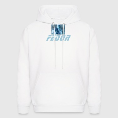 Fedor - White Hooded Sweatshirt - Men's Hoodie