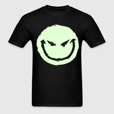 Smile (Glow in the dark) - Men's T-Shirt