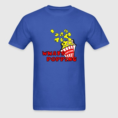 Royal blue Whats Popping? T-Shirts (Short sleeve) - Men's T-Shirt