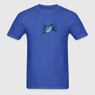 Royal blue 8_waterdrops T-Shirts - Men's T-Shirt