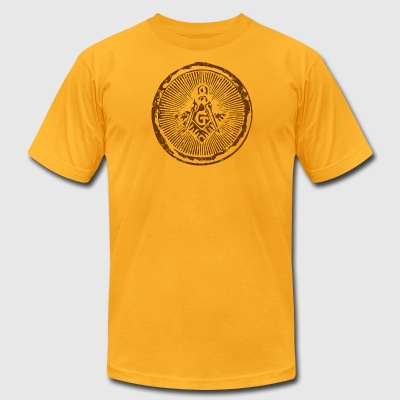 Freemason AA Tee - Men's T-Shirt by American Apparel