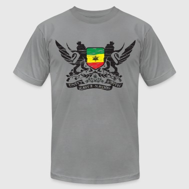 Slate Rasta Nation T-Shirts - Men's Fine Jersey T-Shirt