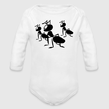 Happy Ants Baby & Toddler Shirts - Long Sleeve Baby Bodysuit