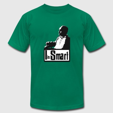 I'm Smart - Men's T-Shirt by American Apparel