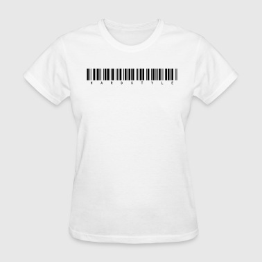 Hardstyle Barcode girly tee - Women's T-Shirt