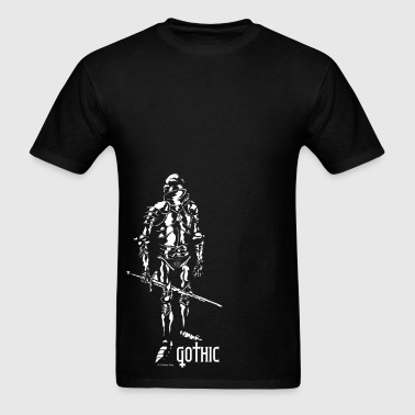 Men's Gothic Knight Black - Men's T-Shirt