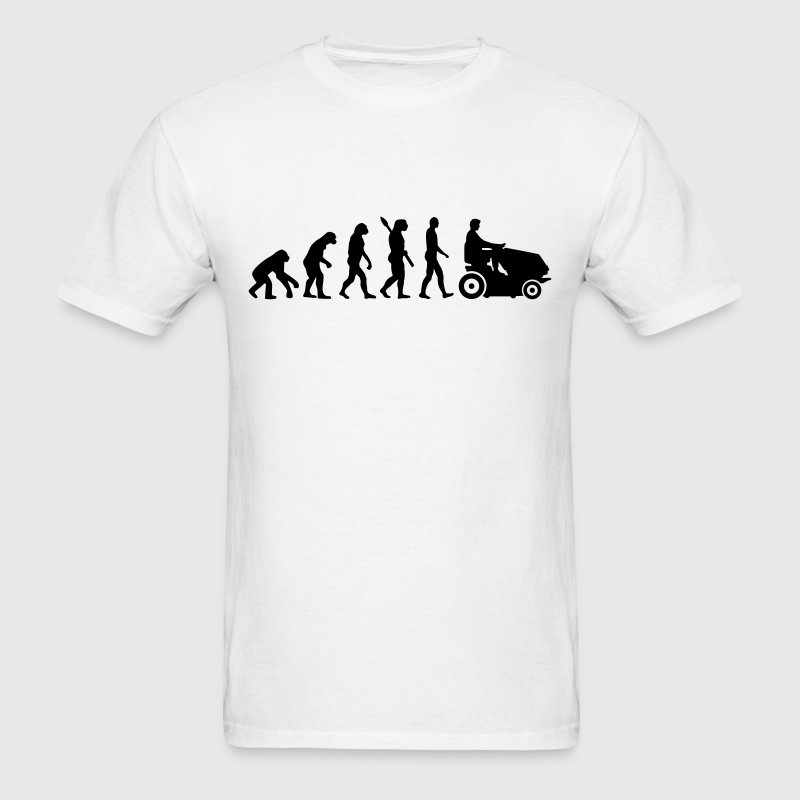 Evolution Lawn mower T-Shirts - Men's T-Shirt