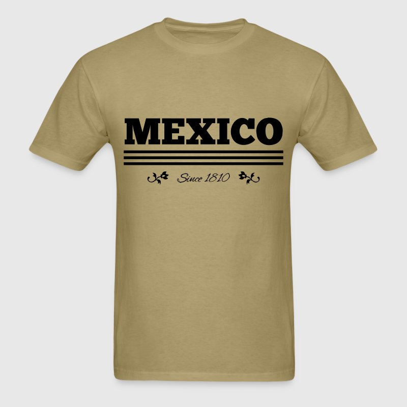 vintage colorized Mexico since 1810 - Men's T-Shirt