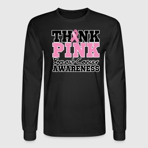 Think Pink Breast Cancer T-Shirt | Spreadshirt