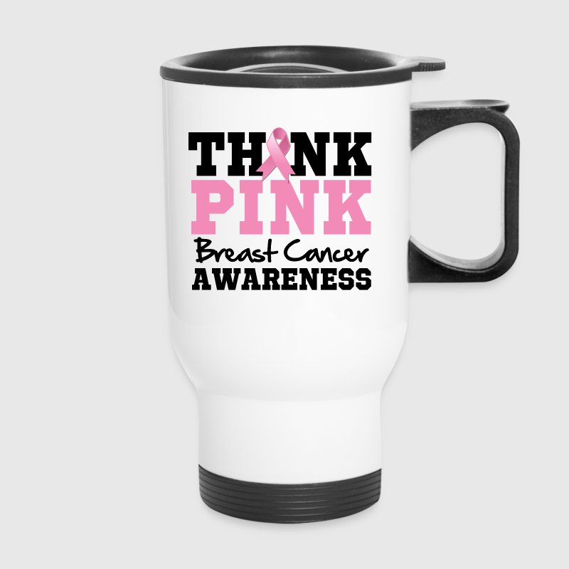 Think Pink Breast Cancer - Travel Mug