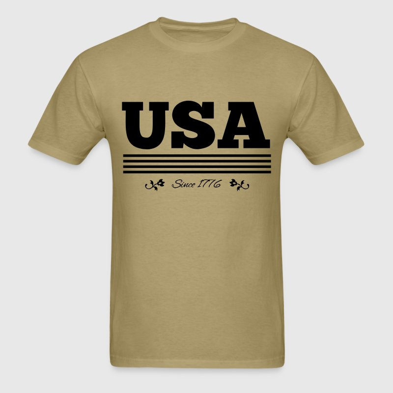vintage USA since 1776 - Men's T-Shirt