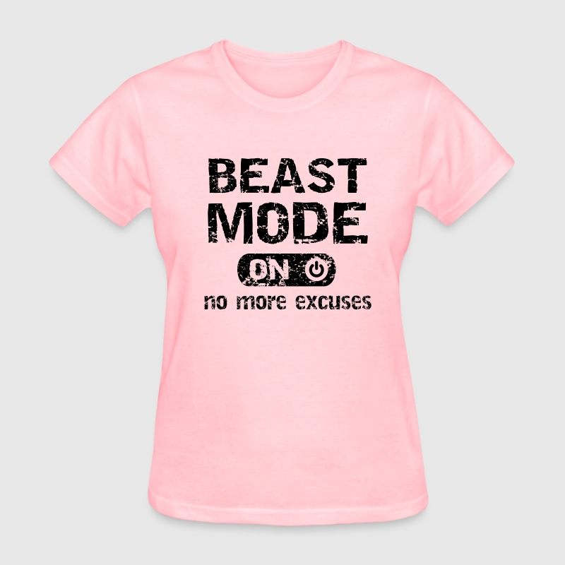 Beats Mode No more Excuses Women's T-Shirts - Women's T-Shirt