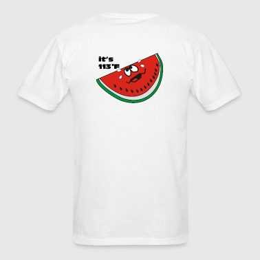 watermelon Bottles & Mugs - Men's T-Shirt