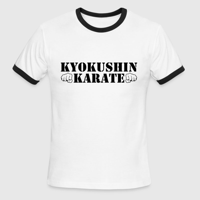 Kyokushin Karate T-Shirts - Men's Ringer T-Shirt