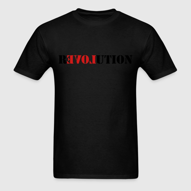 Love Revolution T-Shirts - Men's T-Shirt