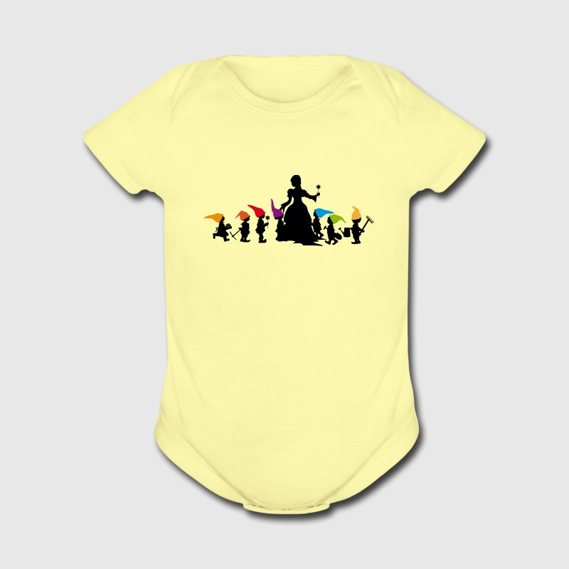 Snow White and the Seven Dwarfs  Baby & Toddler Shirts - Short Sleeve Baby Bodysuit