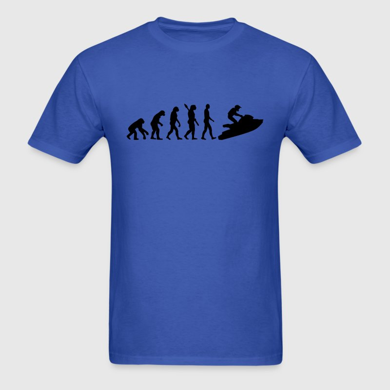Evolution Jet Ski T-Shirts - Men's T-Shirt