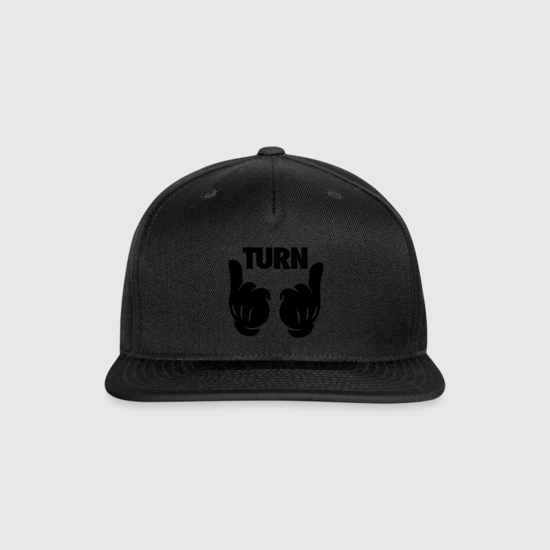 Turn Up Hands Caps - Snap-back Baseball Cap