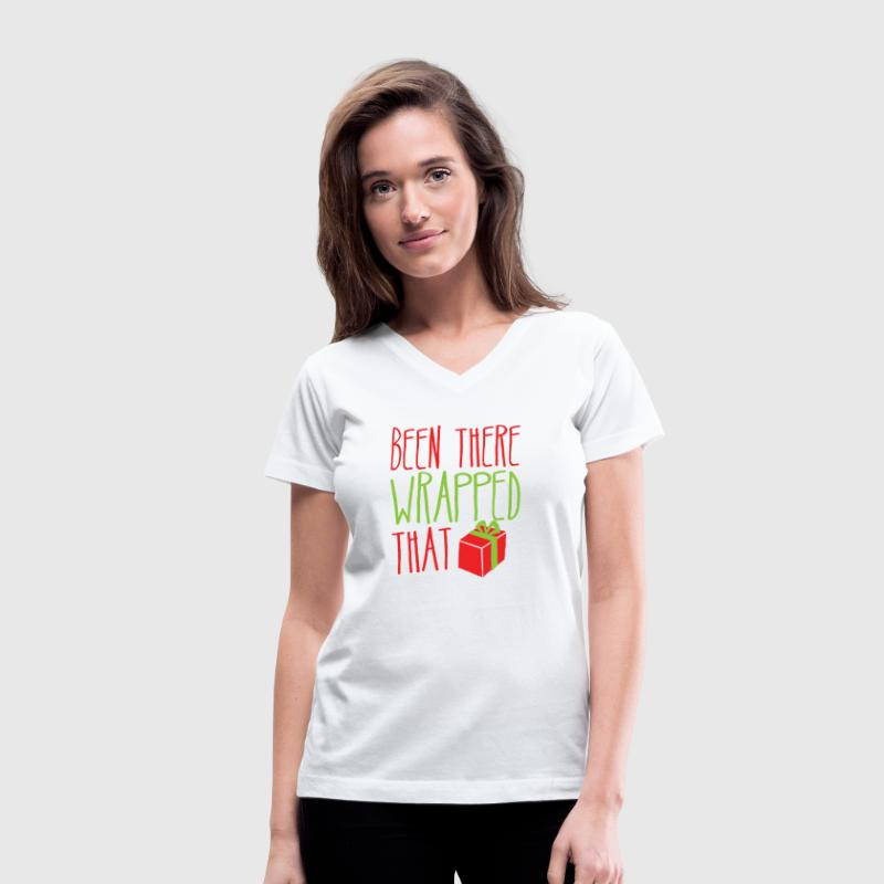 Been there WRAPPED THAT funny Christmas design T-Shirt   Spreadshirt