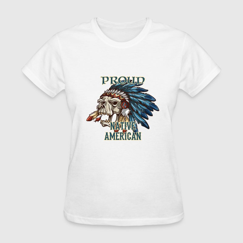 Proud Native American Women's T-Shirts - Women's T-Shirt