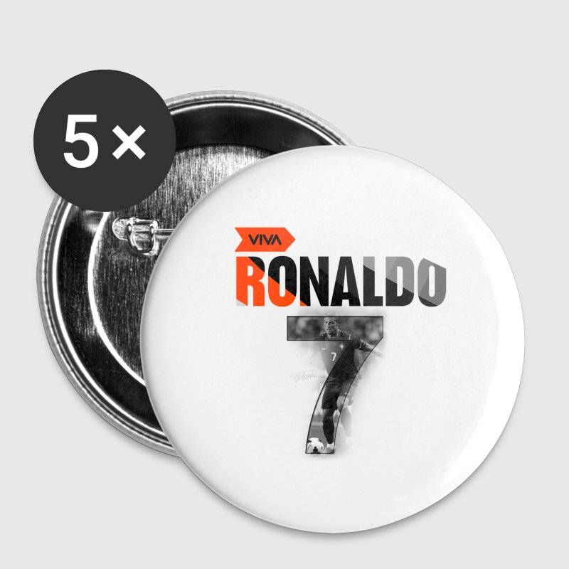 CRISTIANO RONALDO (ACCESSORIES) - Small Buttons