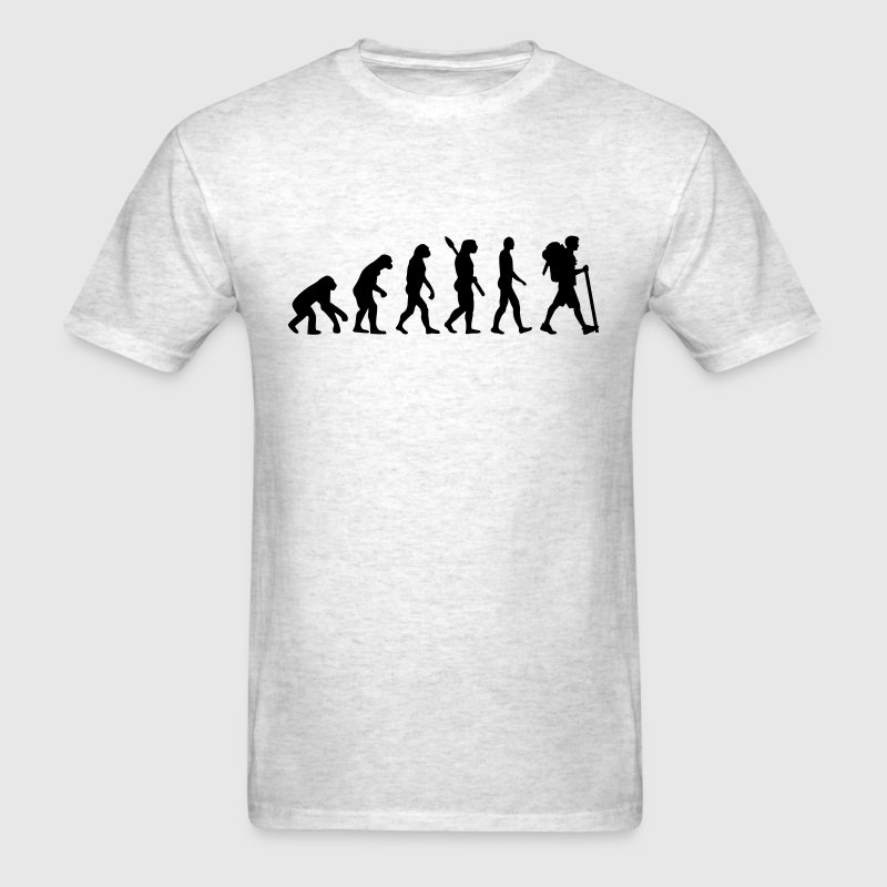 Evolution Hiking T-Shirts - Men's T-Shirt