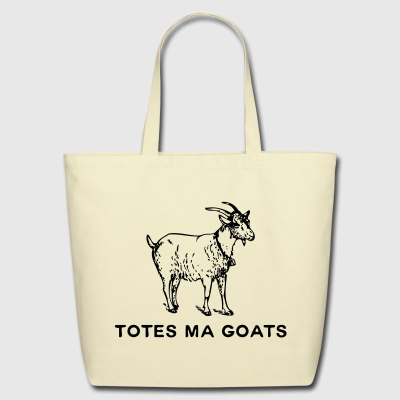 Totes Ma Goats Bags & backpacks - Eco-Friendly Cotton Tote