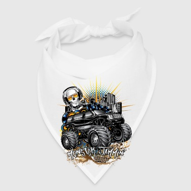 Monster Cadillac SUV Bottles & Mugs - Bandana