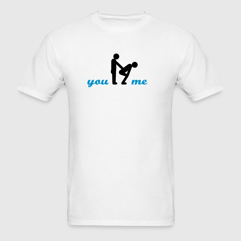 gay guys bottom T-Shirts - Men's T-Shirt