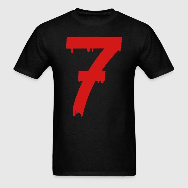 lucky number seven T-Shirts - Men's T-Shirt