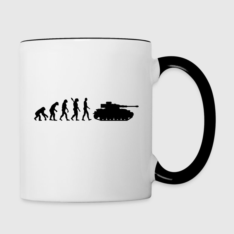 Evolution Tank Bottles & Mugs - Contrast Coffee Mug
