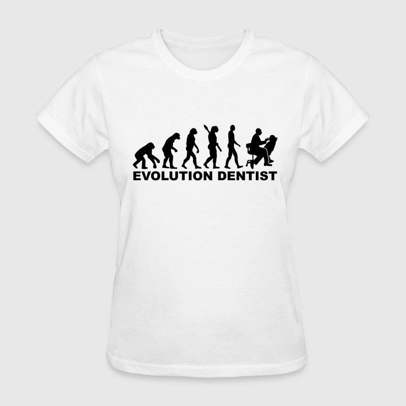 Evolution Dentist Women's T-Shirts - Women's T-Shirt