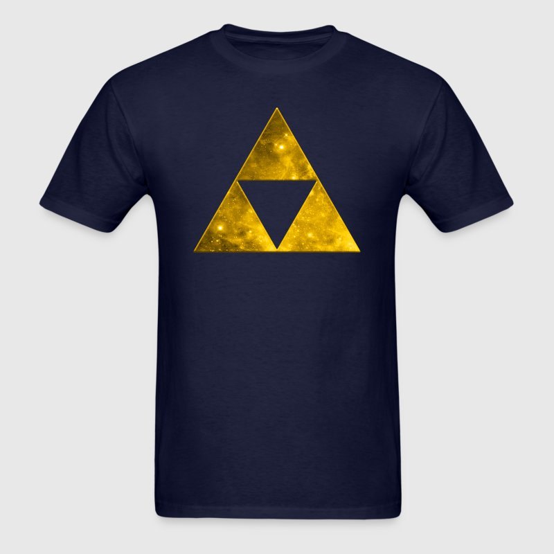 Fractal Triangle Sierpinski Math Mathematics  T-Shirts - Men's T-Shirt
