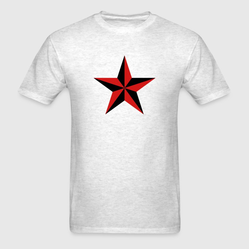 Nautical star symbol protection tattoo sailor navy T-Shirts - Men's T-Shirt
