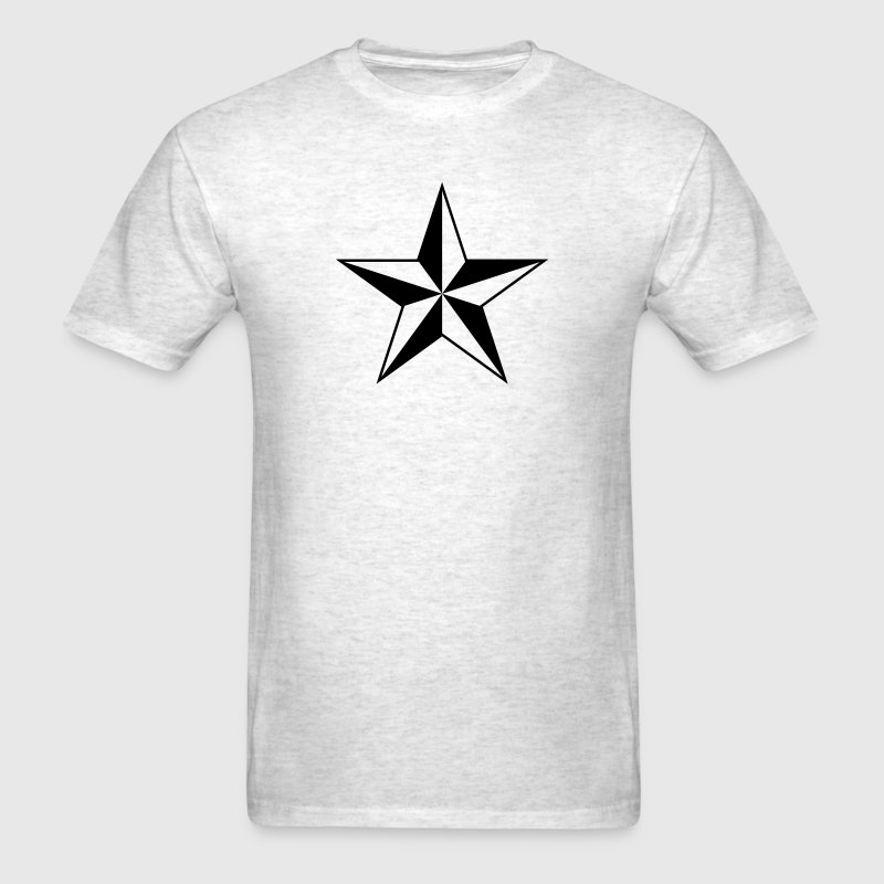 Nautical star protection guidance good luck symbol T-Shirts - Men's T-Shirt