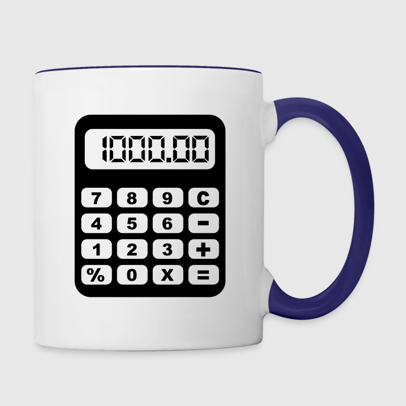 Calculator Bottles & Mugs - Contrast Coffee Mug