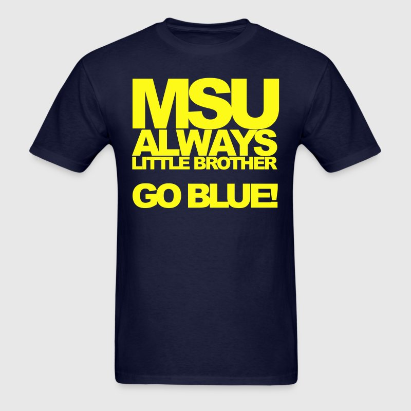 MSU Little Bro - Men's T-Shirt