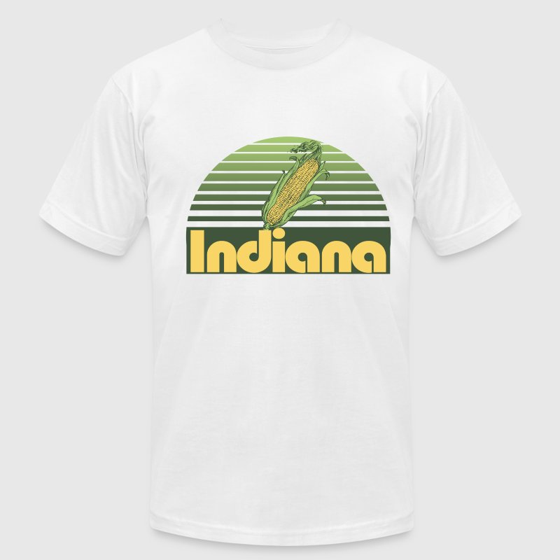 Indiana - Men's T-Shirt by American Apparel