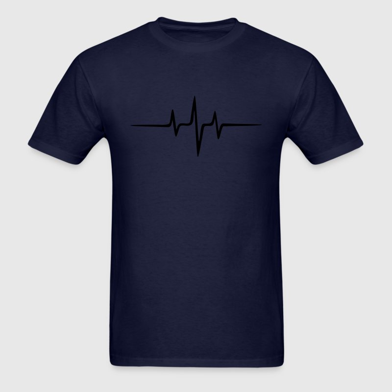 Music Pulse Dub Techno House Dance Trance T-Shirts - Men's T-Shirt