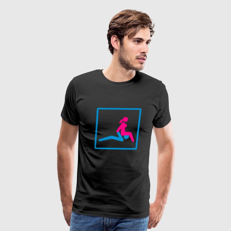 Kamasutra - Facesitting T-Shirts - Men's Premium T-Shirt