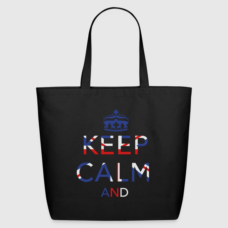 Keep calm ... Union Jack  Bags & backpacks - Eco-Friendly Cotton Tote