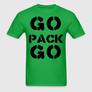 Go Pack Go T-Shirts - Men's T-Shirt