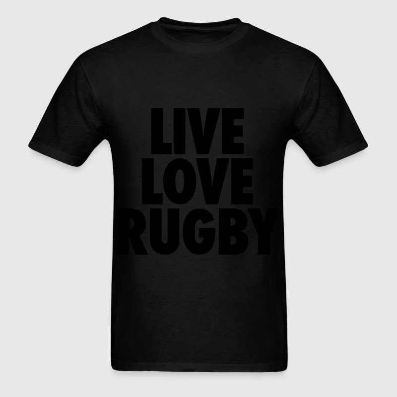 Live Love Rugby T-Shirts - Men's T-Shirt