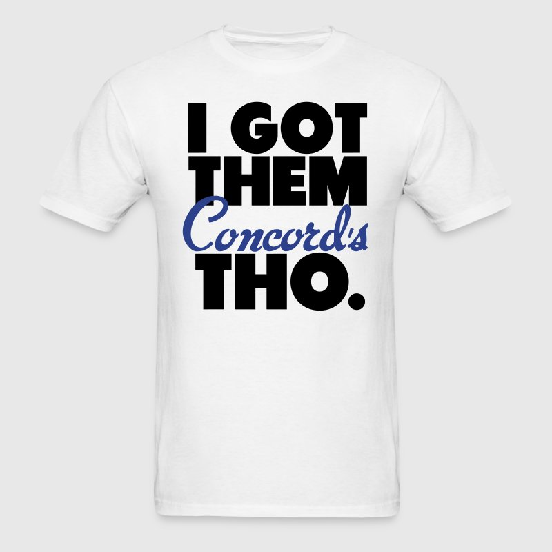 Got Them Concord Jordan Lows Tho Retro Shirt T-Shirts - Men's T-Shirt